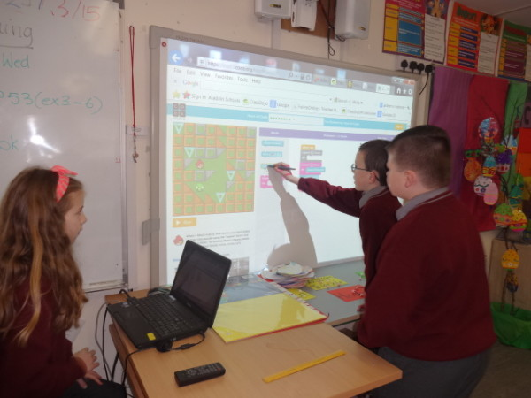 Hour of Code March 20154thclass (10)